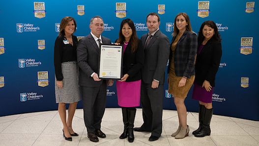 Valley Children's Recognized by State Treasurer Fiona Ma for Providing Outstanding Care to California's Children
