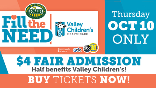 Big Fresno Fair, Valley Children