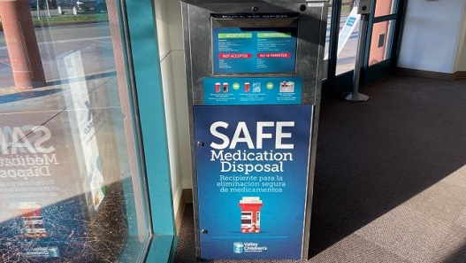 Valley Children's Installs Medication Bin to Keep Harmful Drugs Out of Kids' Hands