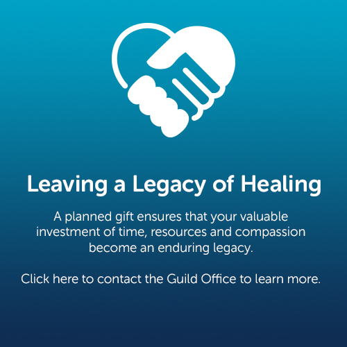 Legacy of Healing Button