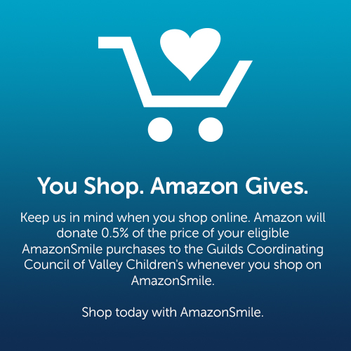 You Shop. Amazon Saves. Button