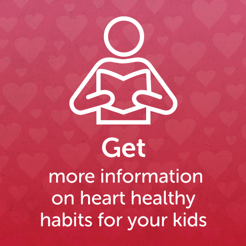 Get more information about heart healthy living