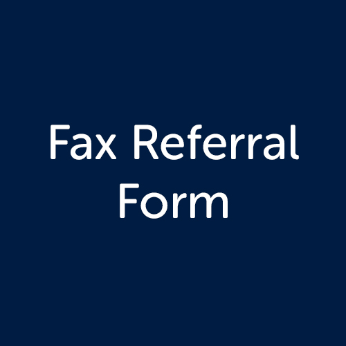 Fax Referral Form