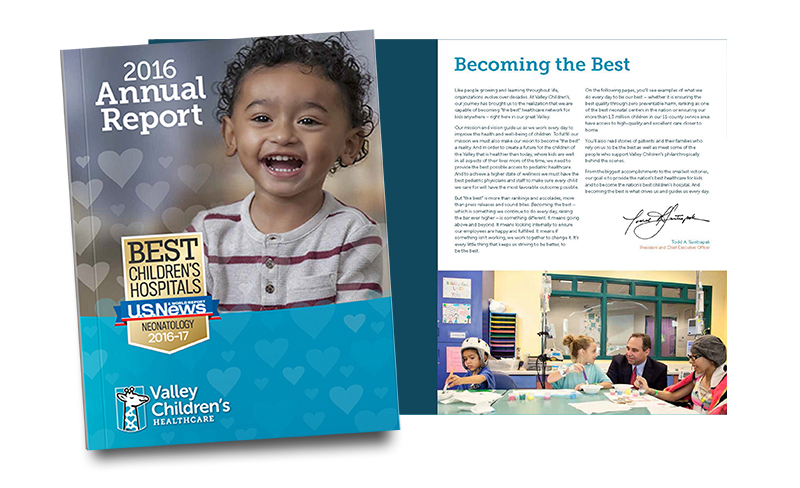Valley Children's 2017 Annual Report
