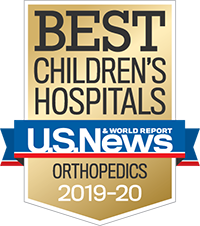 U.S. News & World Report Best Children's Hospitals 2019-2020 Orthopedics