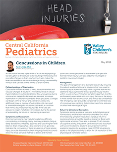 May 2016 Edition of Central California Pediatrics