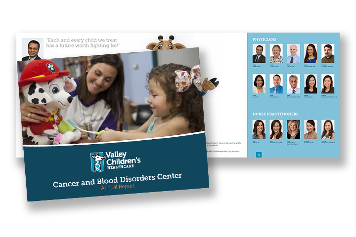2016 Cancer and Blood Disorders Center Annual Report