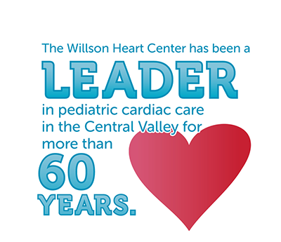 The Willson Heart Center has been a leader in pediatric heart care for more than 60 years
