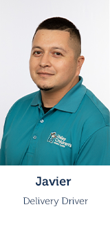 Javier, Delivery Driver, Home Care