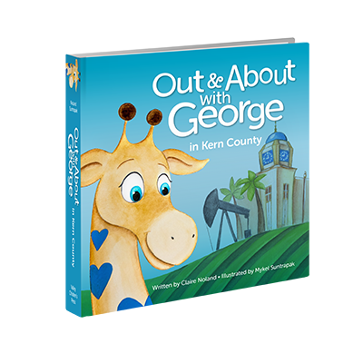 Out and About with George in Kern County Book Cover