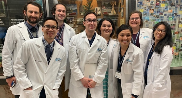 Group photo of Valley Children's pediatric residents