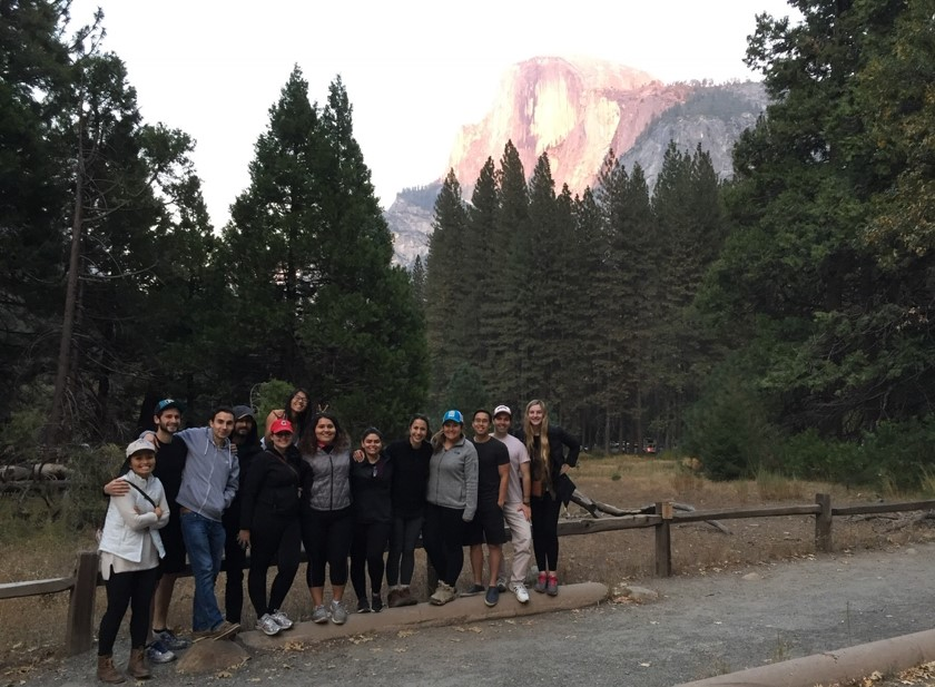 Photo of Valley Children's residents at Yosemite retreat