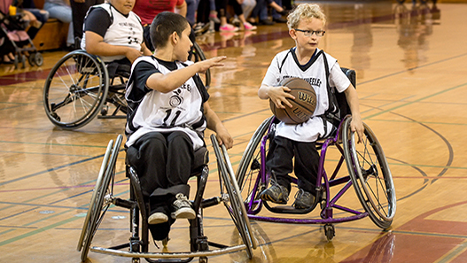 Adaptive Sports Basketball